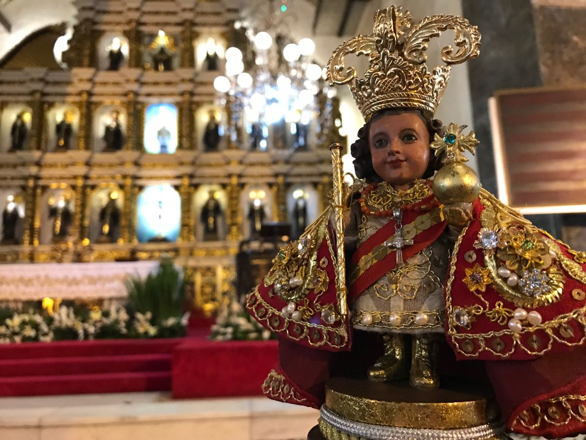 Sto Niño De Cebu Child Jesus Cebu Sto Nino