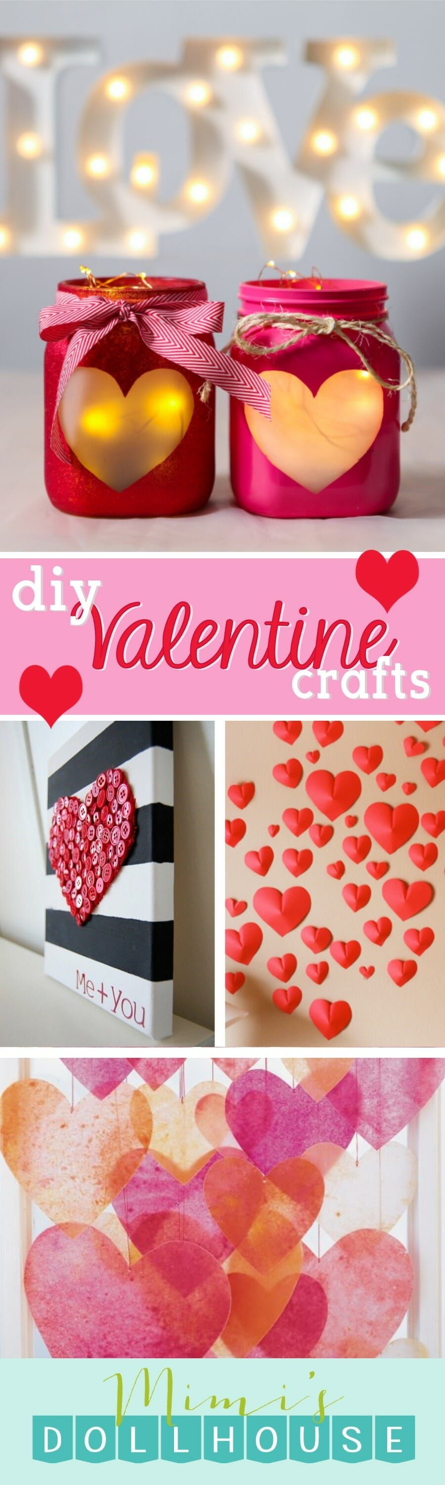 ValentineS Day Cute Valentine Crafts  Valentine Crafts Diy