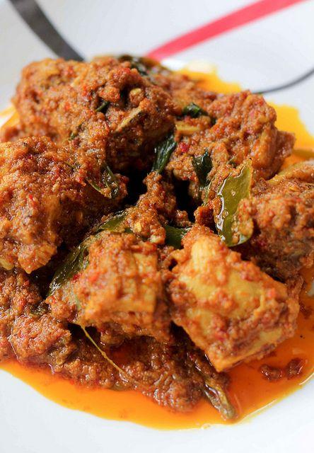 Resepi Rendang Ayam Dapur Malaysia Resep Masakan Malaysia Makanan Resep Masakan Indonesia
