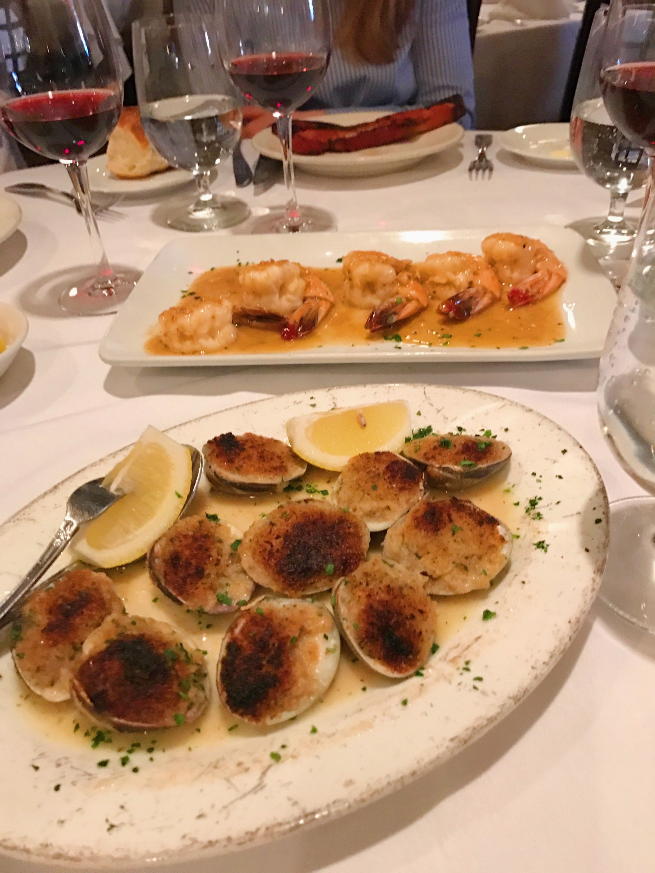 Baked Clams and Shrimp from Peter Luger | Fridays with Uncle Steve\'s ...