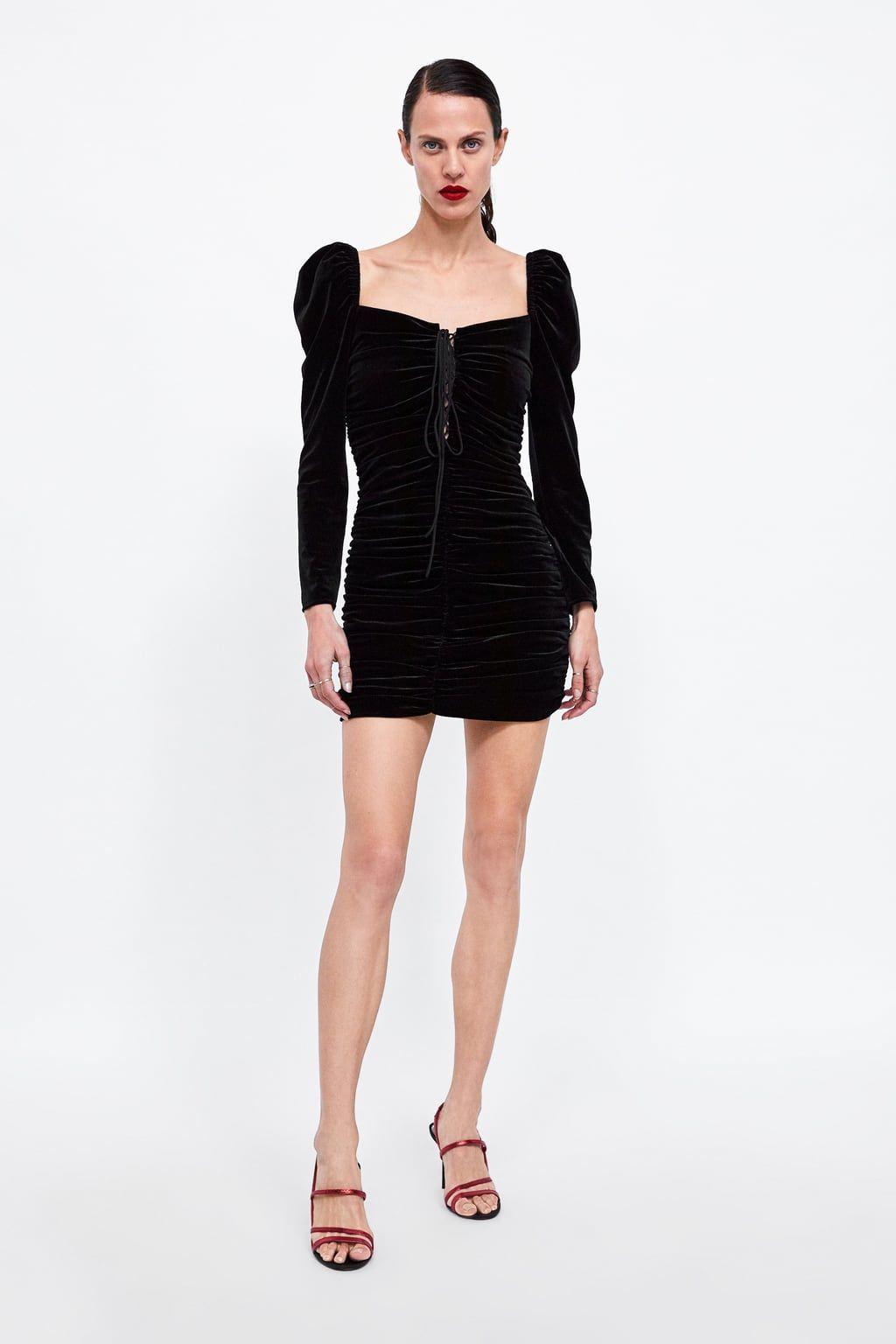 Vestiti 2019 Nel 1 Vestito Di ZaraBeauty Immagine Velluto WCodxrBe