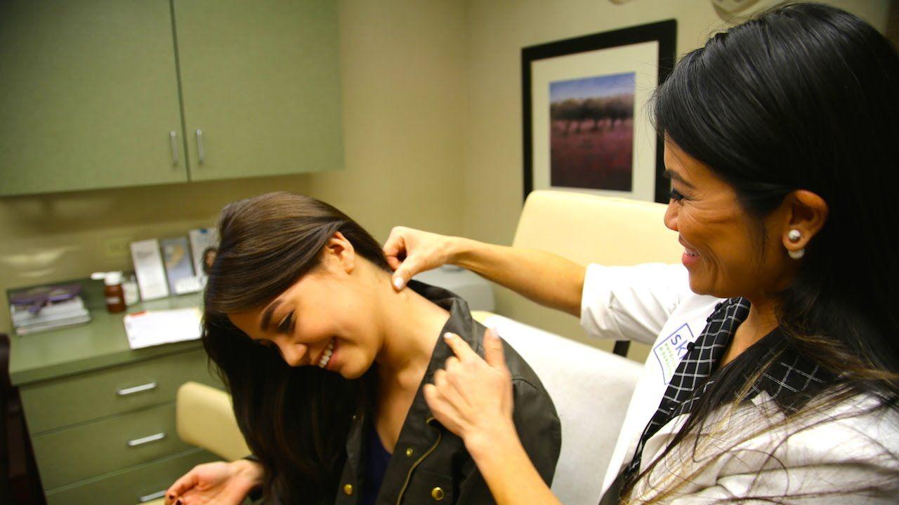 Dr pimple popper dermatologist tackles massive zits on