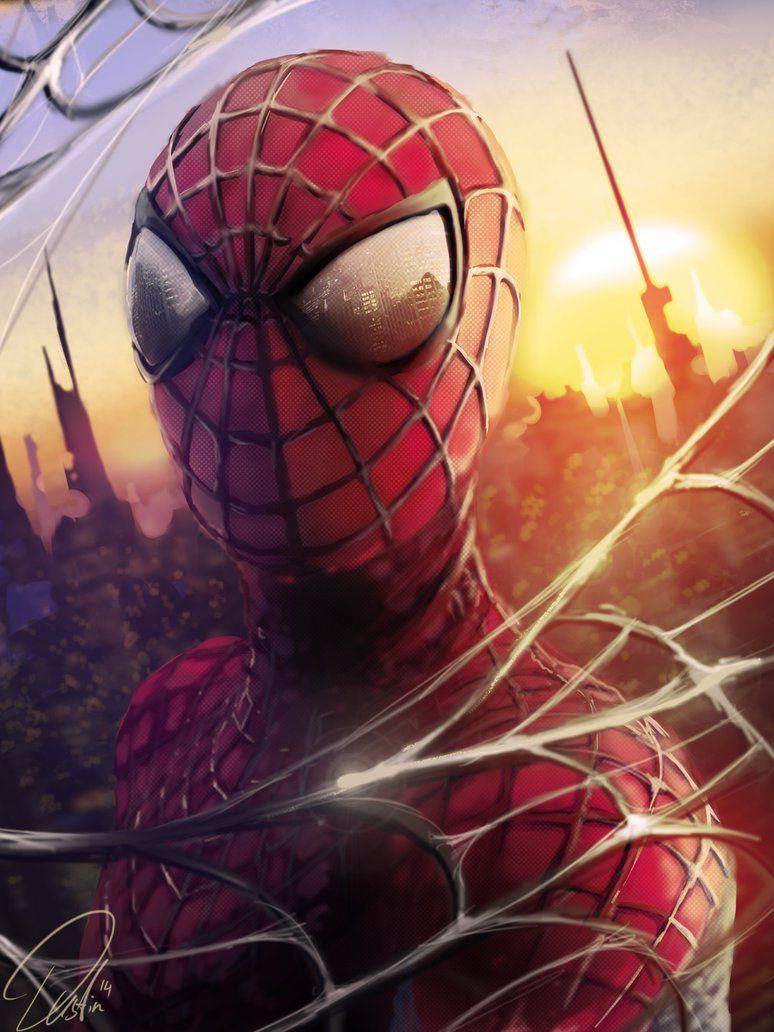 #Spiderman #Fan #Art. (The Amazing Spider-Man) By: DustIn4Pictor.