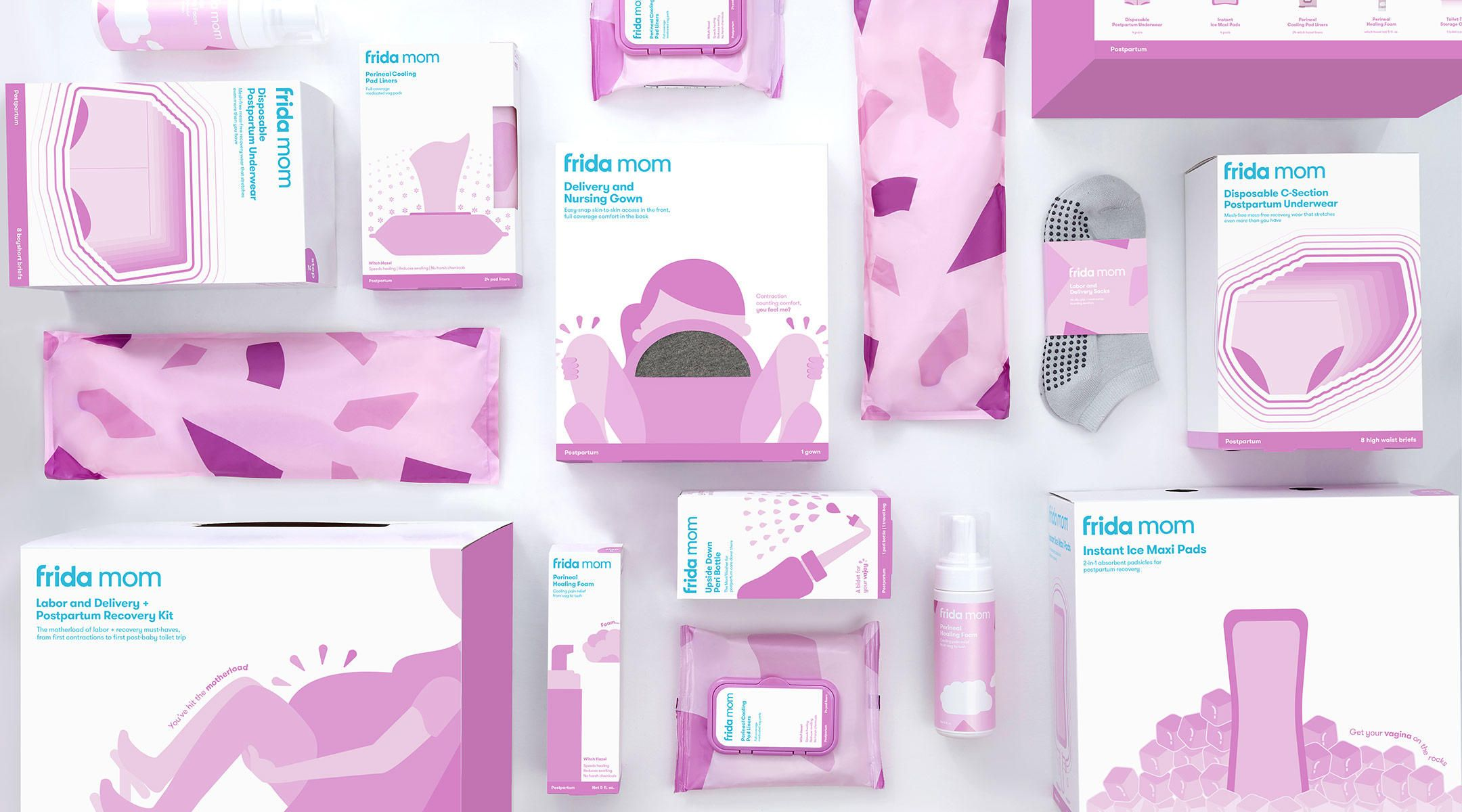 Frida Launched A Line Of Postpartum Care Products So You Don T
