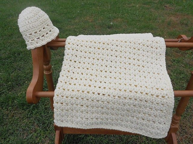 Simple and beautiful are two magic words that make a crochet baby ...