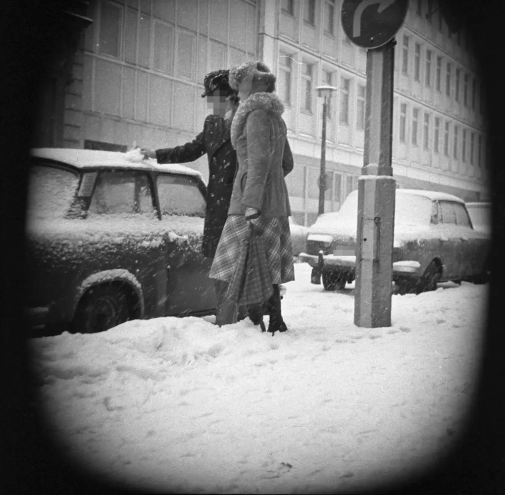 Policing The Berlin Wall: The Ghostly Photos Taken By The