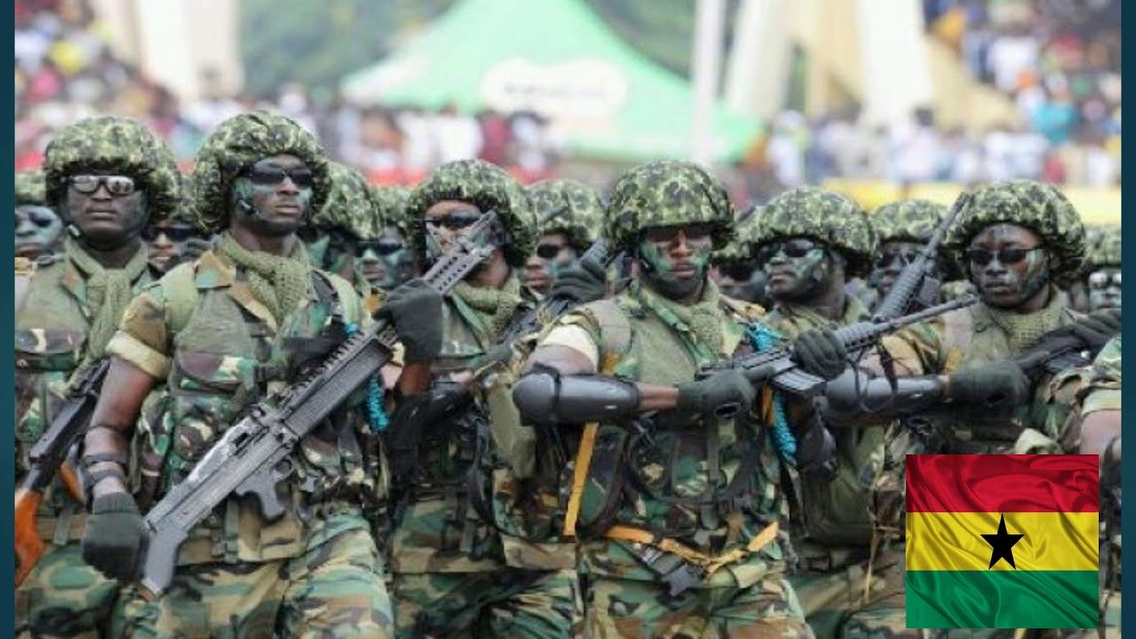 Ghana's Military Strength 2019 Army recruitment, Borno