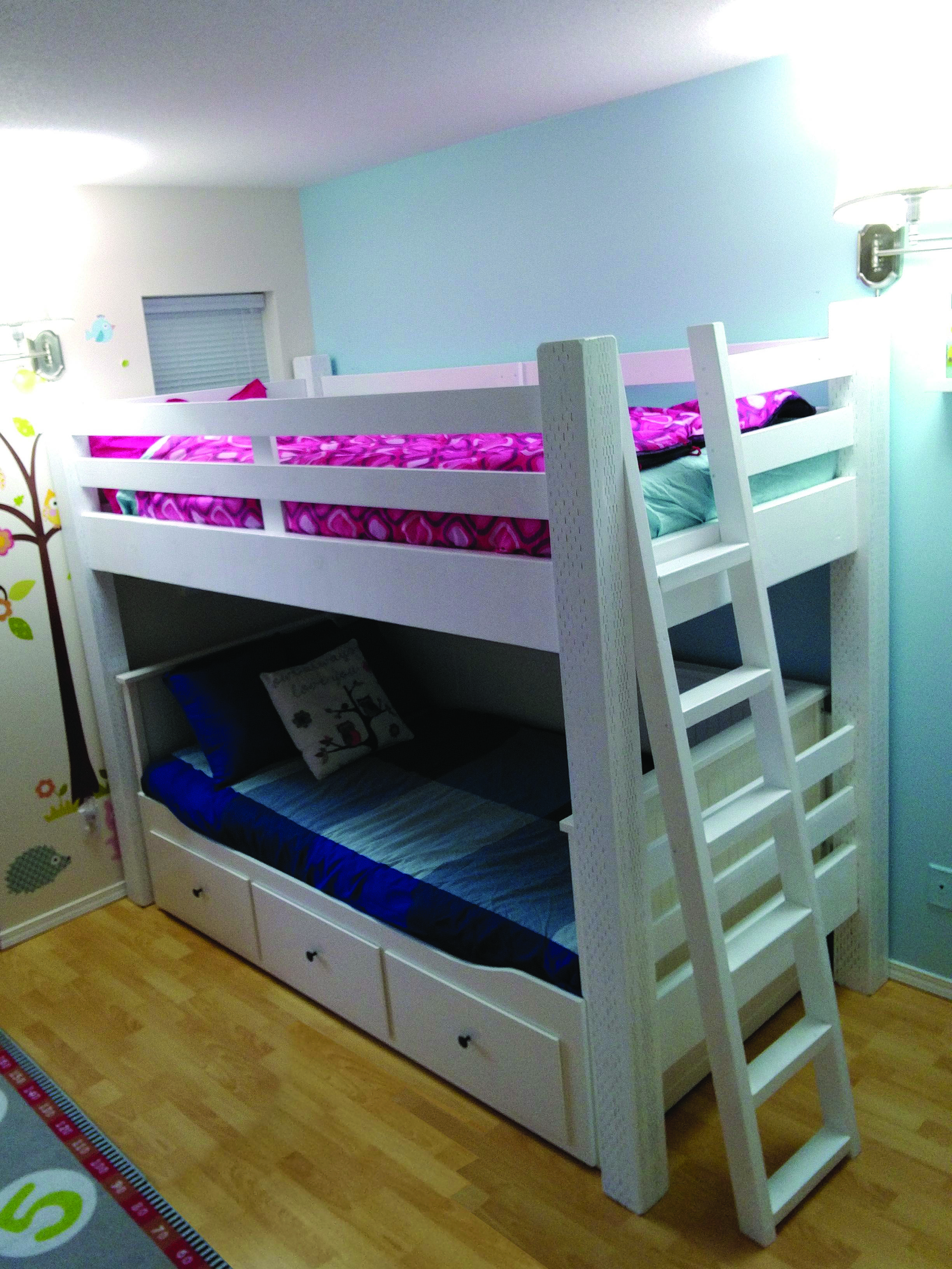 Finest Ikea Bunk Bed Ladder Cover Made Easy Stuva Hochbett Bett Kinderzimmer Ikea Babybett