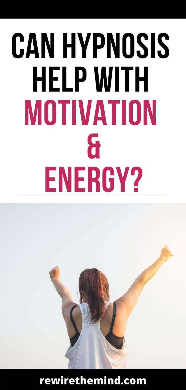 Hypnosis for Motivation and Energy Does it Work