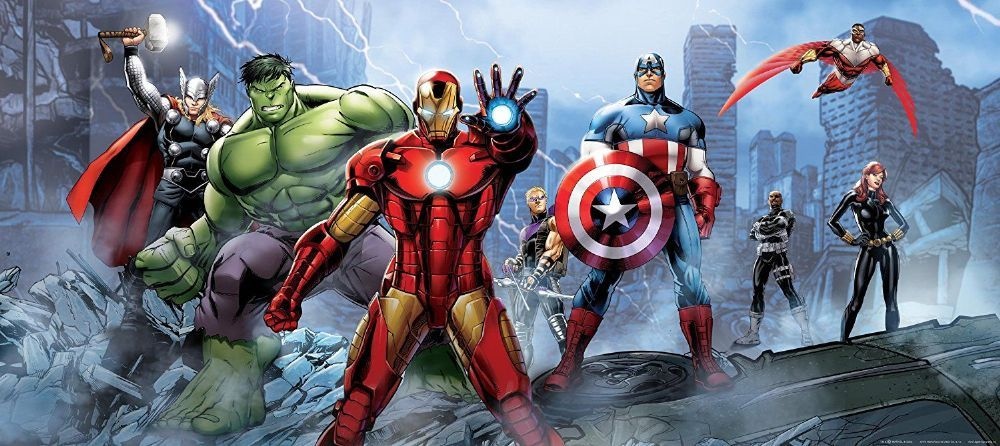 Best Marvel Wallpaper Murals For Interior Home Walls Panoramic 400 x 300