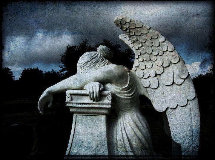 Staglieno Cemetery in Genoa, Italy.