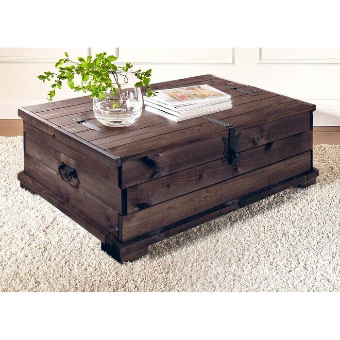 Coffee Table Trunk | Coffee table trunk, Coffee table setting, Coffee table