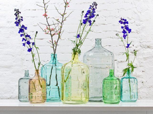 Une déco écolo pour une jolie maison en bonne santé | Bottles with ...