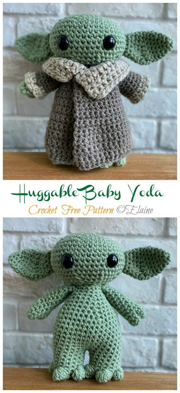 Amigurumi Star War Yoda Free Crochet Patterns • DIY How To