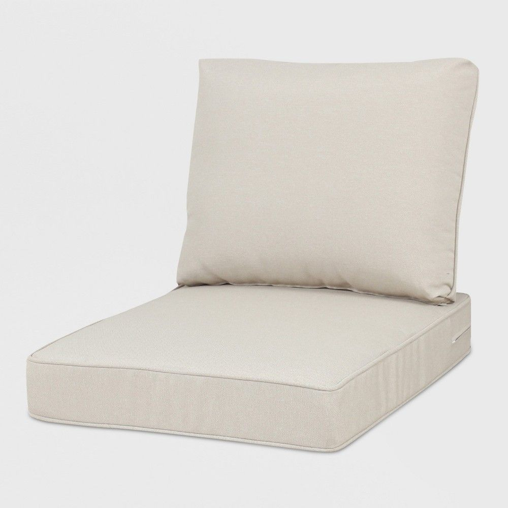 Rolston Outdoor Seat And Back Chair Cushion Tan Grand Basket Outdoor Seat Chair Cushions Patio Seat Cushions