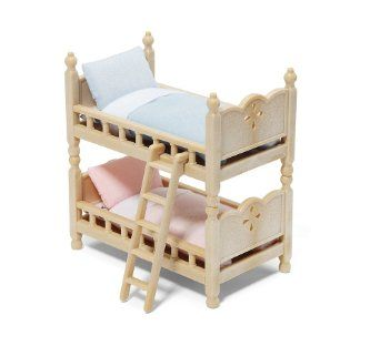 Amazon Com Calico Critters Bunk Beds Toys Games 10 Bunk Bed Sets