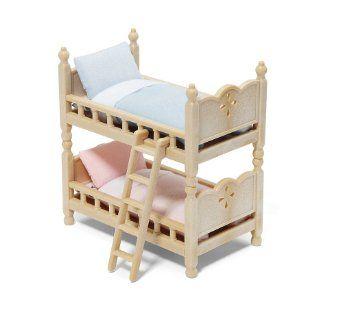 Amazon Com Calico Critters Bunk Beds Toys Games 10 Bunk