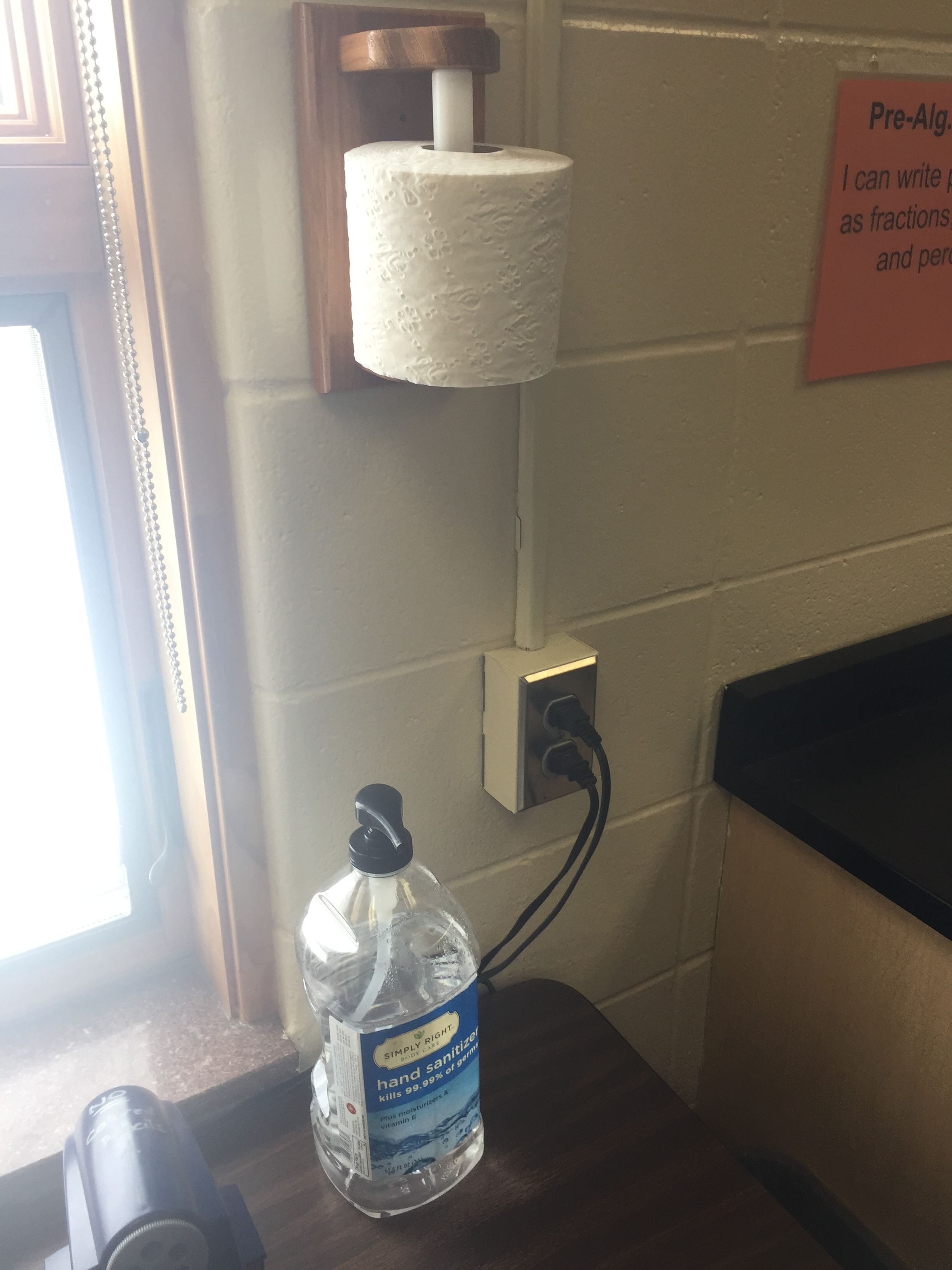 No More Expensive Tissues To Buy For My Classroom Toilet Paper