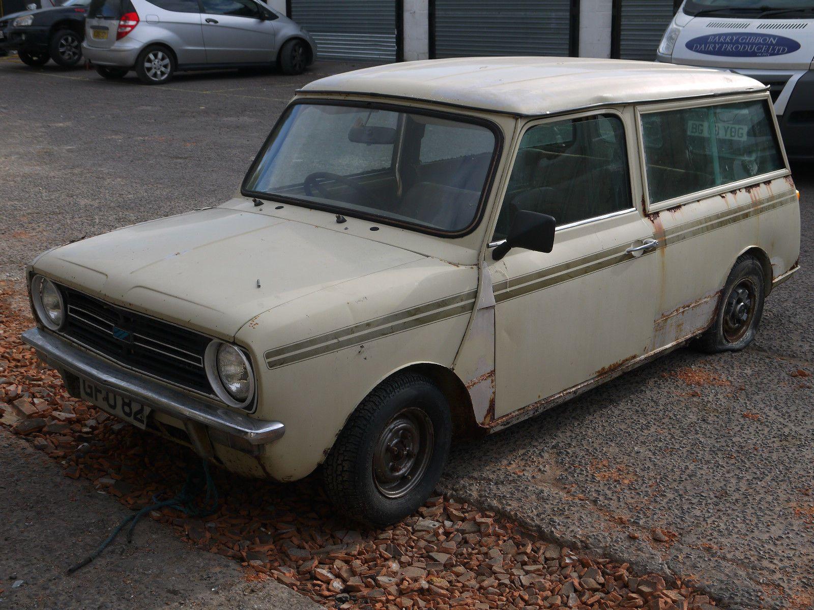 Classic mini clubman classic austin project stored restoration car ...