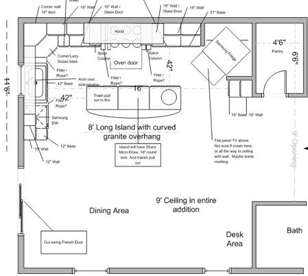 best kitchen layouts - Google Search