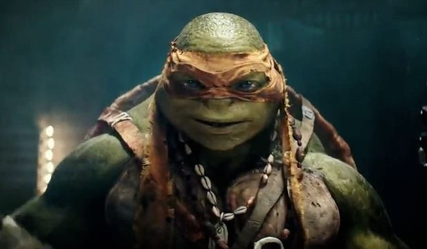 Michelangelo teenage mutant ninja turtles 2014 tmnt - Tortue ninja michael angelo ...