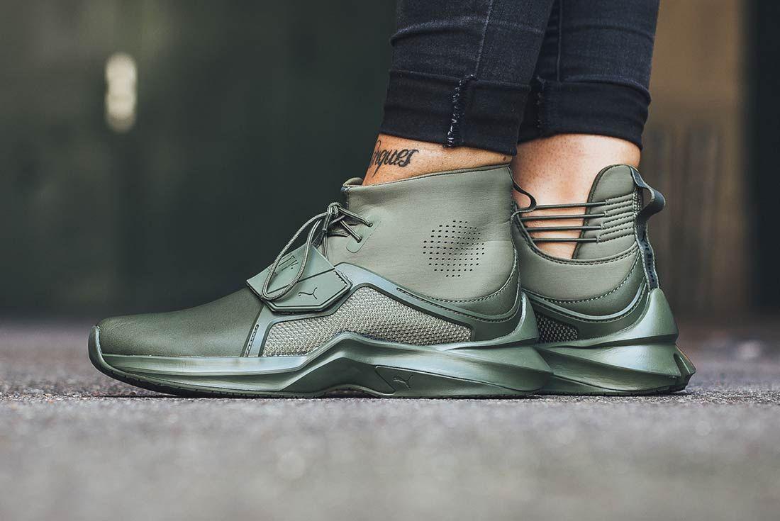Rihanna x PUMA Fenty Trainer Hi | Athletic Sneakers