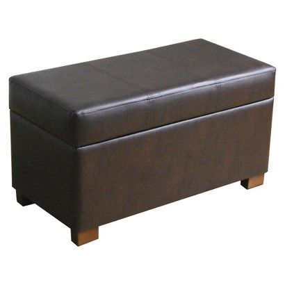 Essex Basic Storage Bench Chocolate Threshold