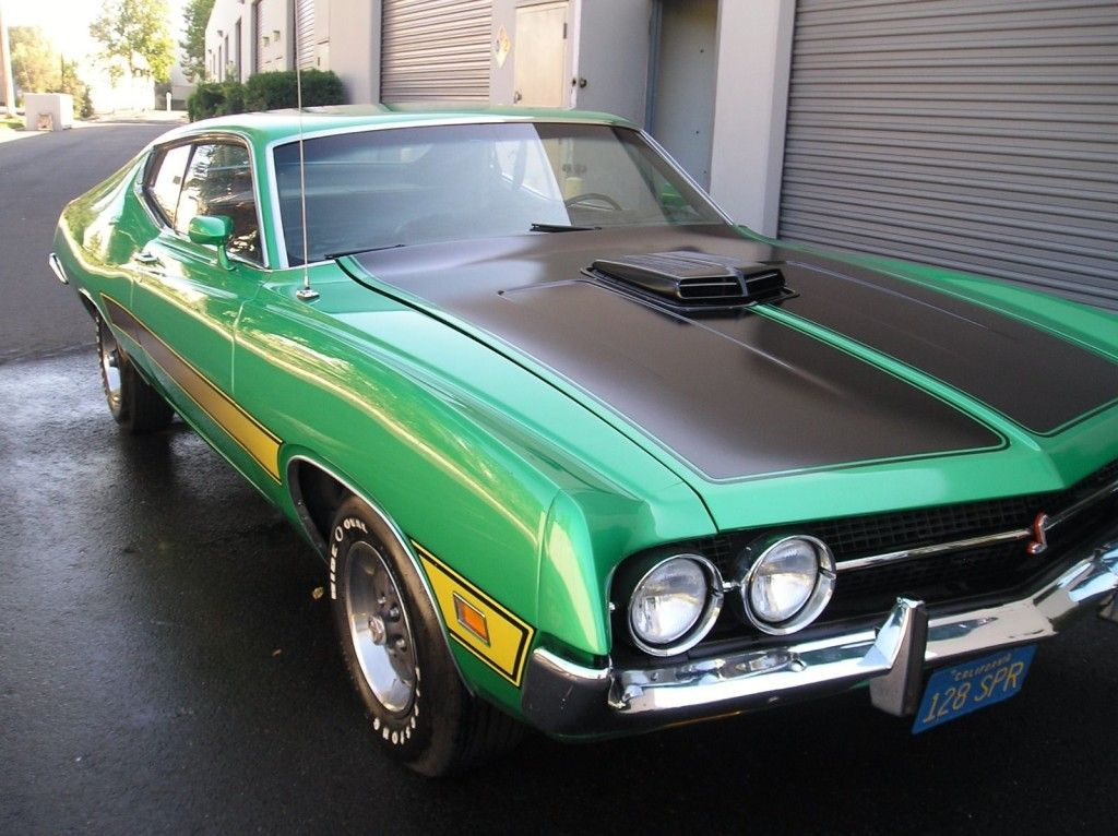 Marti Report Included Grabber Green 1971 Ford Torino Cobra With