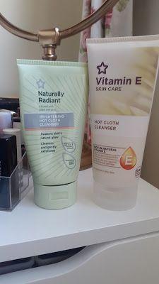 Comparison: Superdrug Vitamin E Hot Cloth Cleanser VS