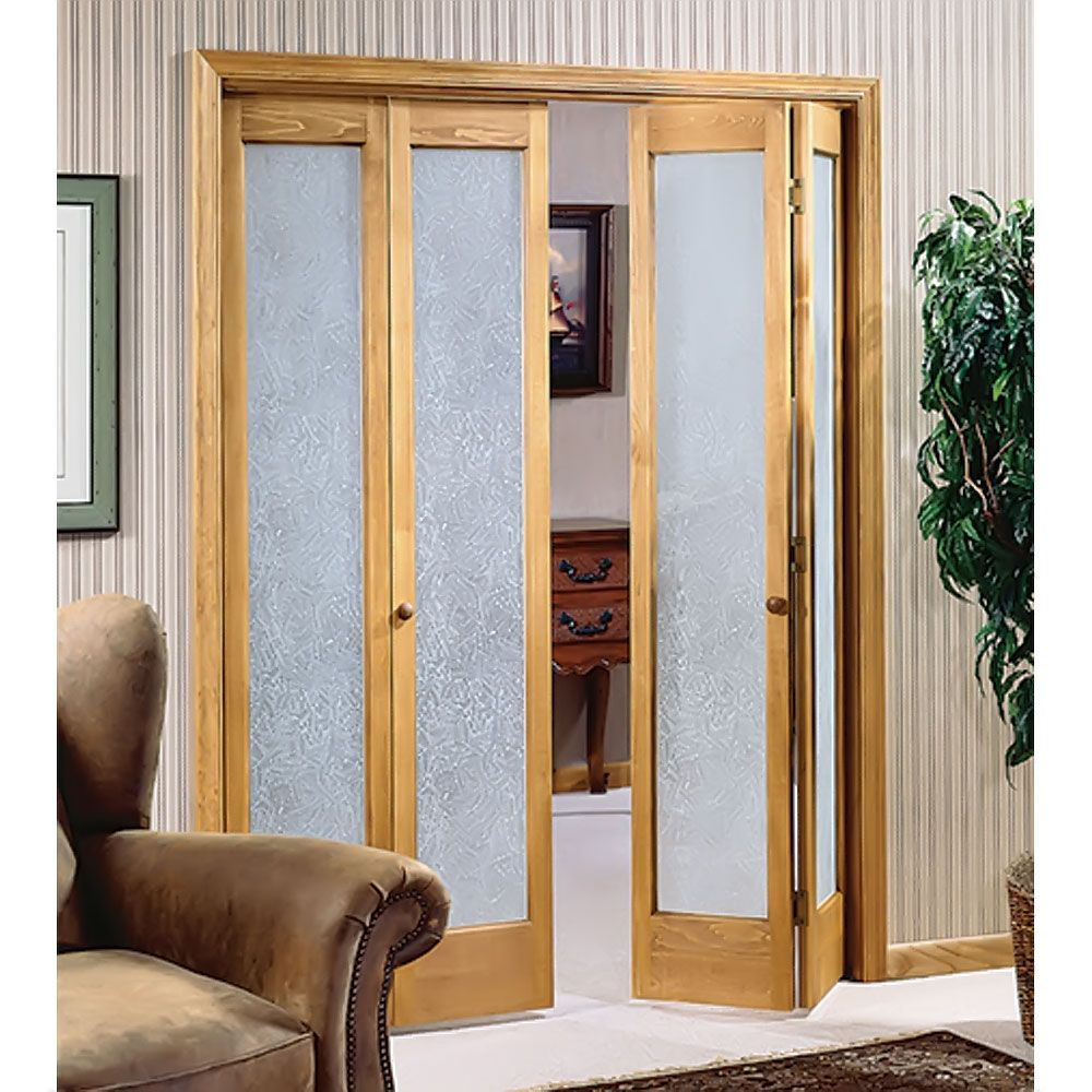 Interior French Door With Decorative Glass Double Doors Interior, Bifold Interior  Doors, Door Design