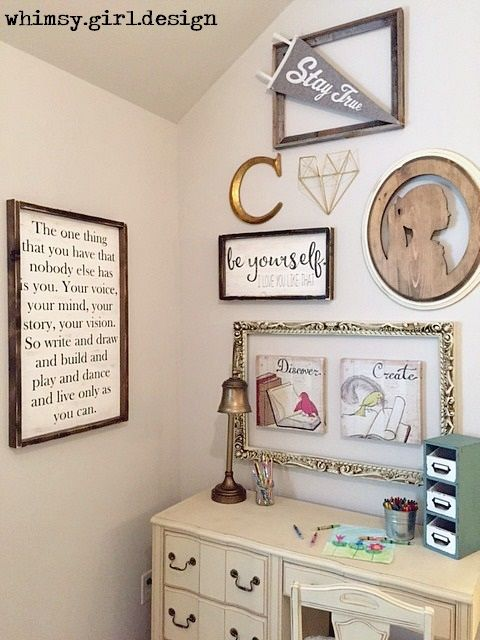 whimsy girl design girls whimsical bedroom quote wall plaque gallery wall - Bedroom Wall Plaques