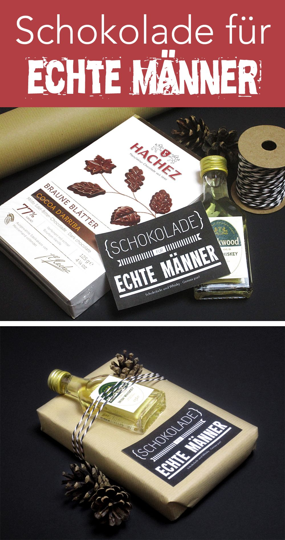 Drei kreative Geschenkideen zum Verpacken von Schokolade ...