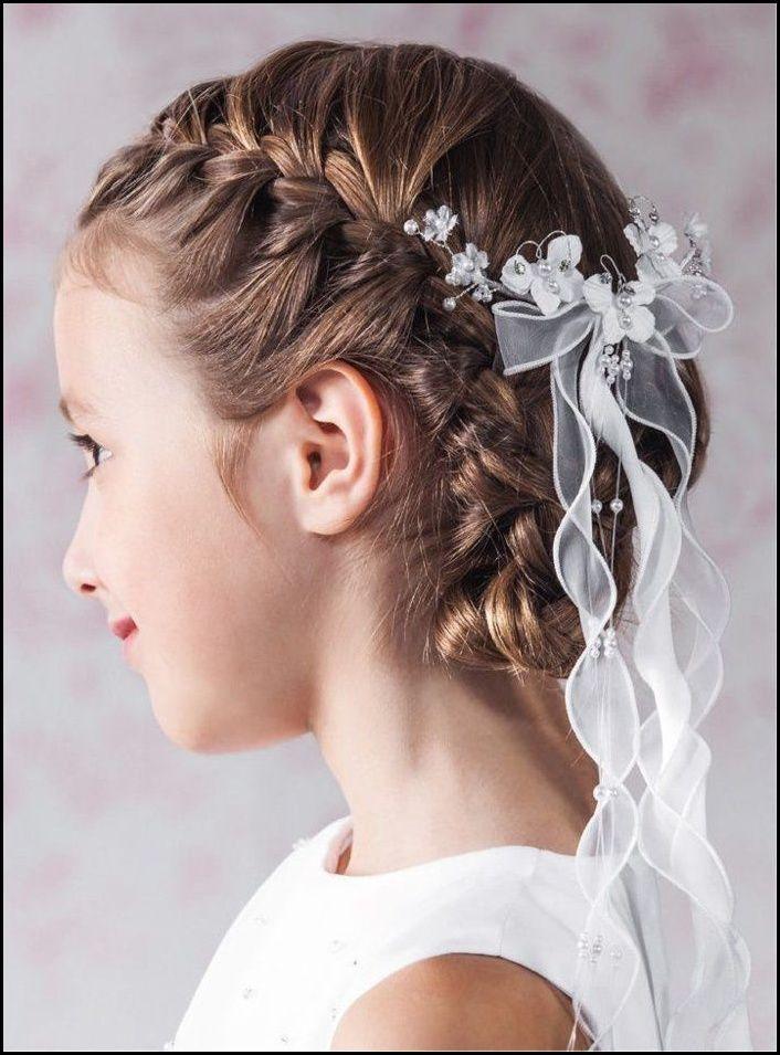 kommunion frisuren, die für schöne erinnerungen sorgen