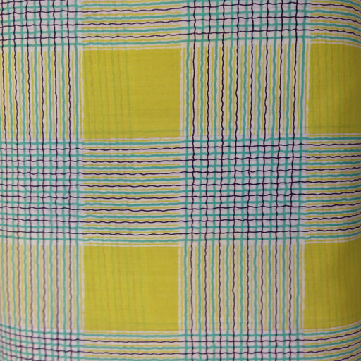 Kei - Lawn - Plaid - Chartreuse : Sew Modern