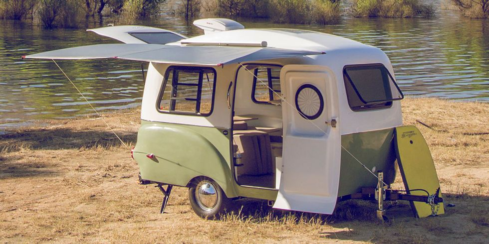 This Tiny Lightweight Camper Has Room For Everything You Need And More