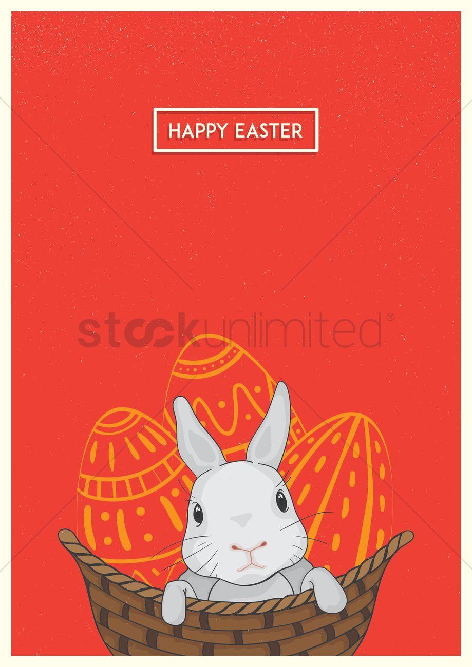 Happy easter design vector illustration