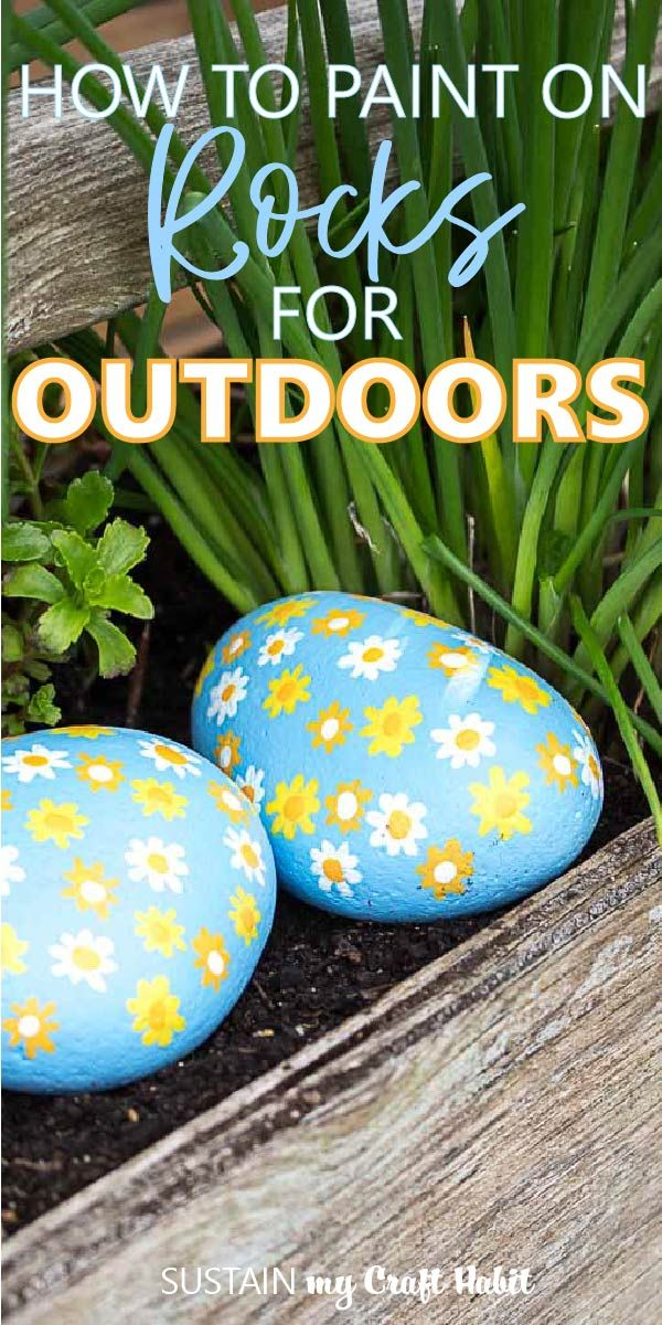 How to Paint on Rocks for Outdoors
