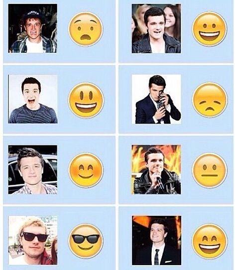Josh's facial expressions!!!