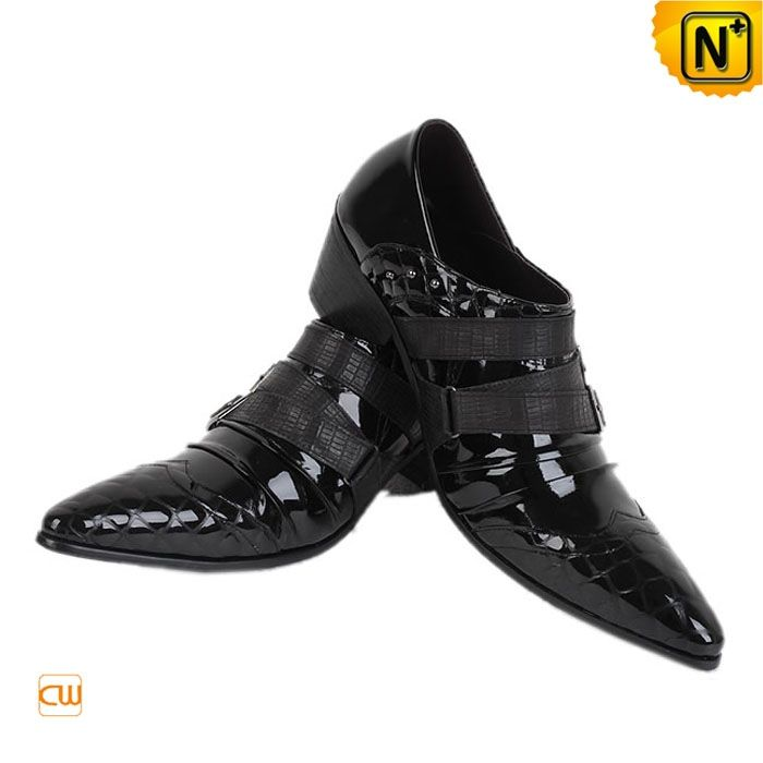 Black Italian Leather Dress Shoes For Men Cw760109 19589 Www
