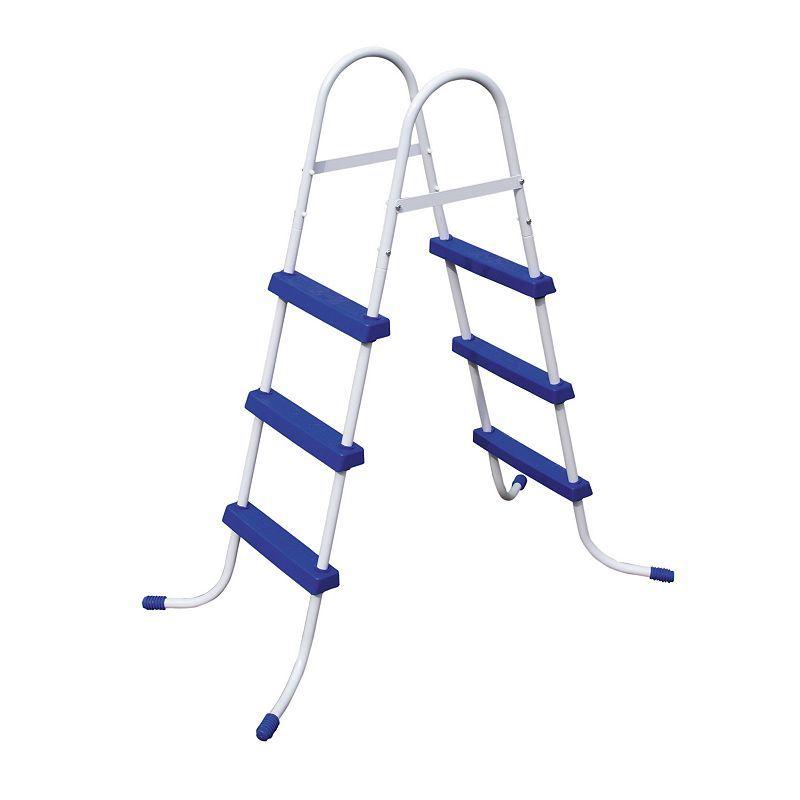 Bestway 42 In Pool Ladder Pool Ladder Above Ground Pool Ladders Swimming Pool Ladders