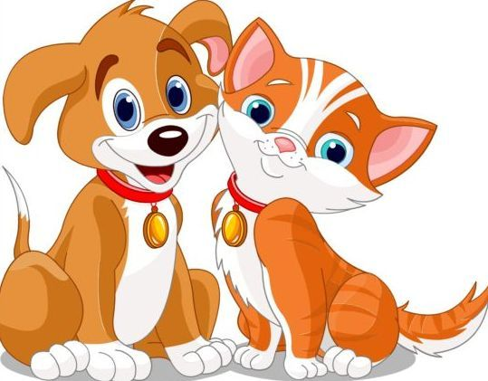 12+ Cat and dog clipart free ideas