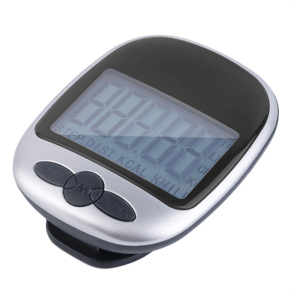 Mini LCD Podomètre Calories Marcher Courir Jogging Marche Distance Calcul Compteur Numérique Courir Jogging Marche Étape