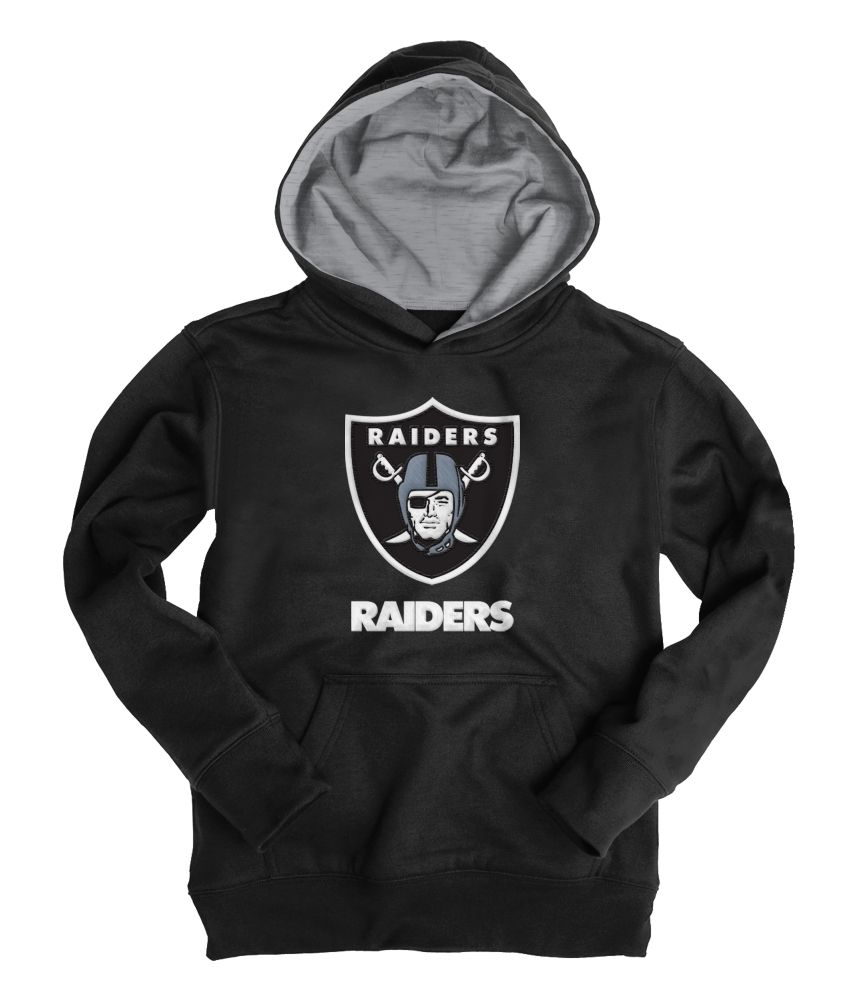 Kids' Oakland Raiders® Popover Hoodie - PS From Aeropostale