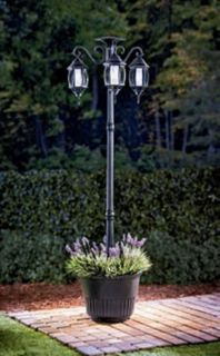 Beautiful Madison Solar Lamp Post U0026 Planter This Would Be A Nice Addition To The  Front Yard