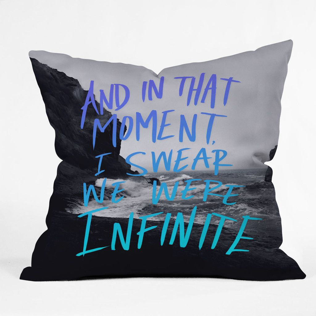 Leah Flores Infinite Throw Pillow | DENY Designs Home Accessories