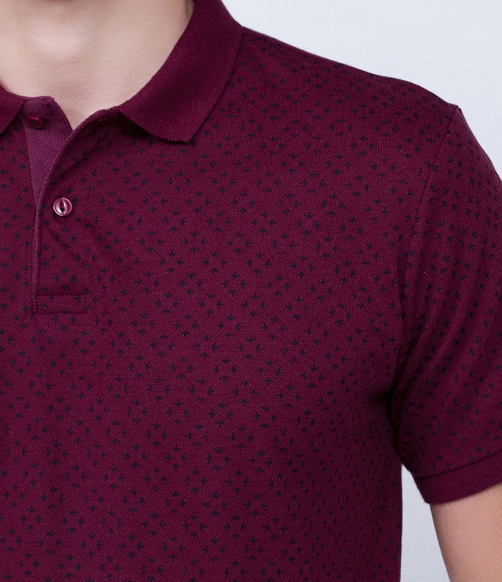 Camisa masculina Manga curta Gola polo Estampada Marca  Marfinno Tecido   malha Composição  100 7646674e78831