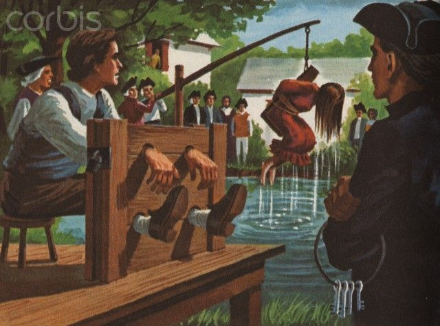 Puritans rules and punishment