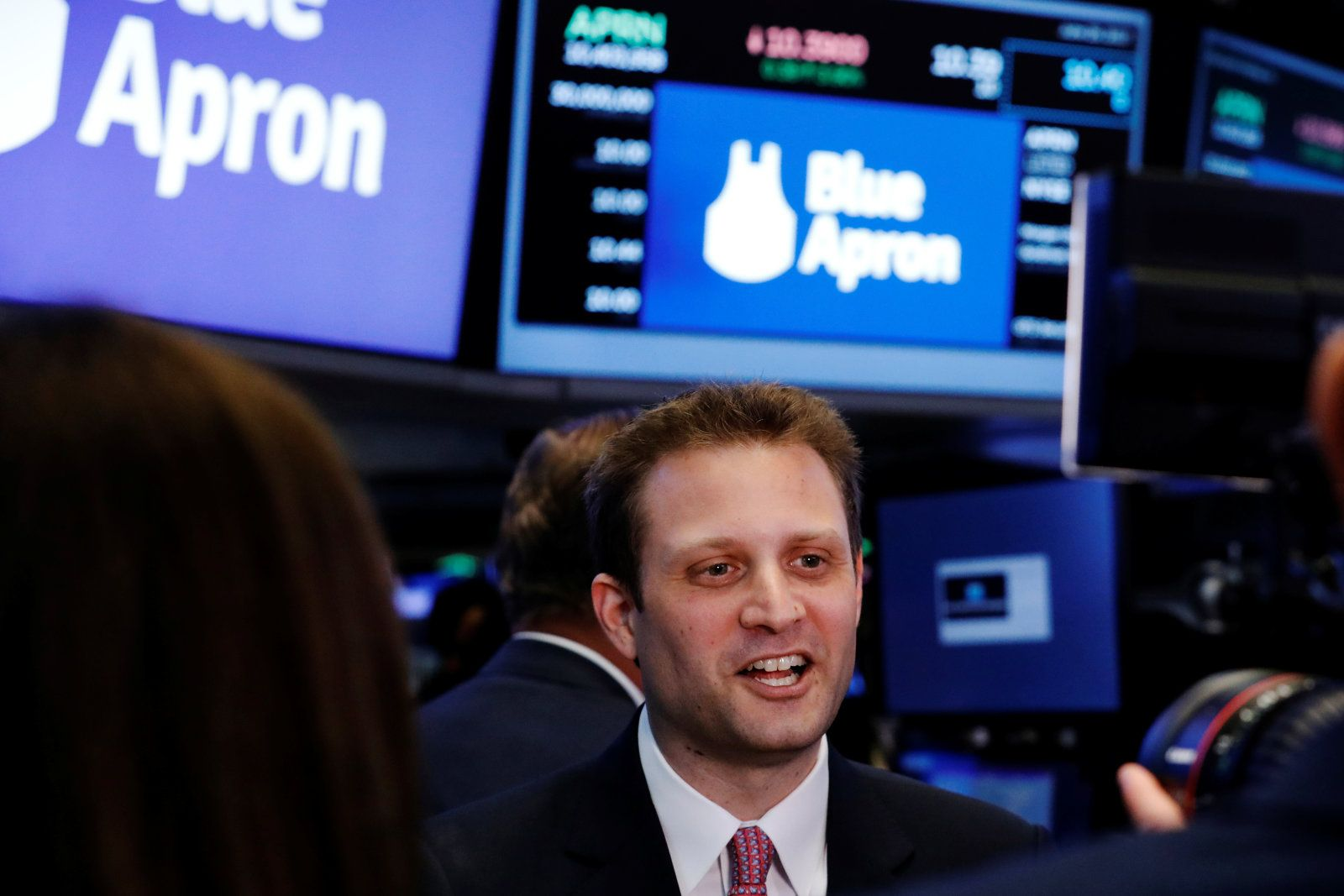 Blue Apron cofounder steps down as CEO Blue apron, Co
