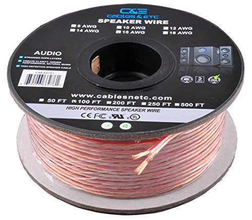 Ce Cne62287 100 Feet 16awg Enhanced Loud Oxygenfree Copper Speaker Wire Cable Cne62287 Check Out The Image By Visiting Th Speaker Wire Speaker Cables Speaker