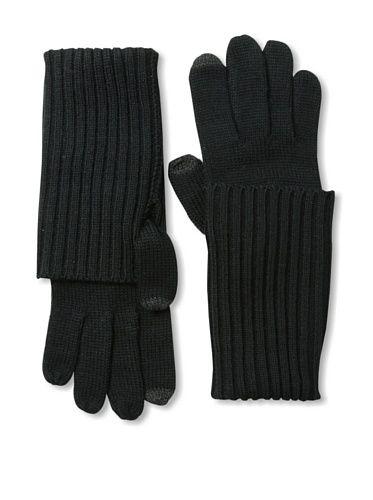 Amicale Women's Tech Gloves, Black